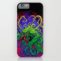 iPhone Cases featuring RISE, TENDRIL, RISE! by BeastWreck