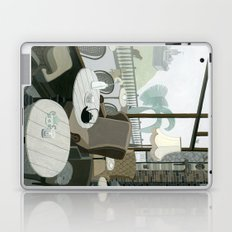 Cafe With A View Of The Castle Laptop & iPad Skin