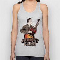 Johnny Cash Unisex Tank Top