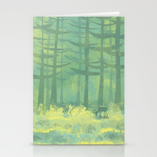 The Clearing Stationery Card