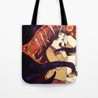 Leah and the Monster Tote Bag