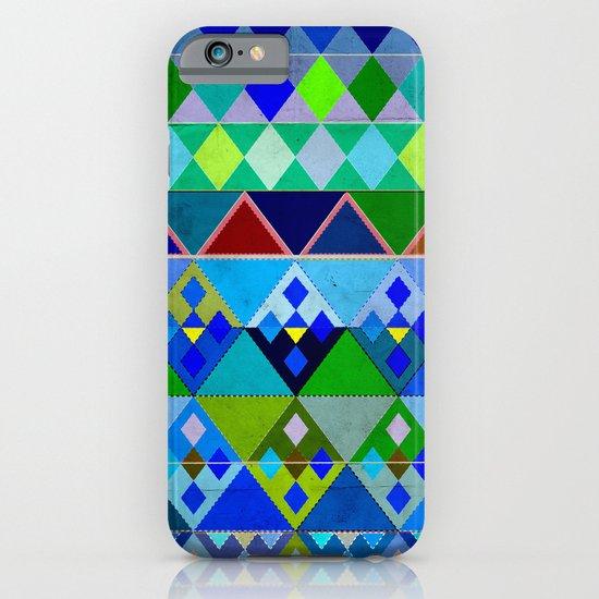 Cobalt Blue Diamond pattern iPhone & iPod Case