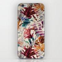 Tulip pattern iPhone & iPod Skin