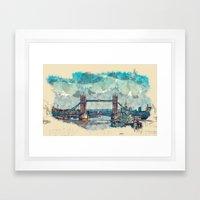 Tower Bridge London Framed Art Print