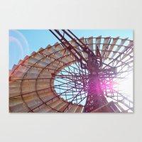 Windmill Flare Canvas Print