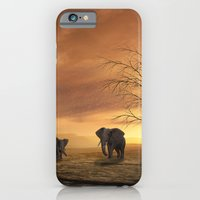 elephants iPhone & iPod Cases featuring Elephants by Susann Mielke