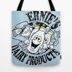 Ernies ghostly gold tops Tote Bag