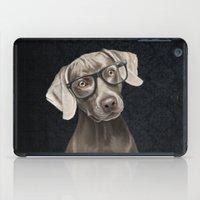 Mr Weimaraner iPad Case