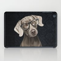 Mr Weimaraner iPad Case