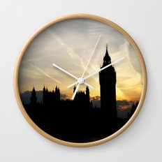 London - Big Ben Sunset Wall Clock