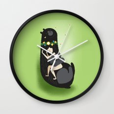 Slumbear Wall Clock