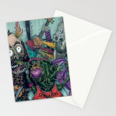 Sid Squish and the Death Collectors Stationery Cards