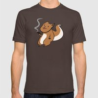 Bonbon Petillant Mens Fitted Tee Brown SMALL