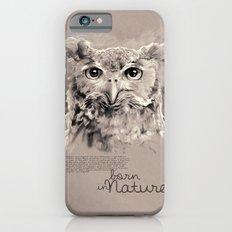 Owl (BornInNature) Slim Case iPhone 6s