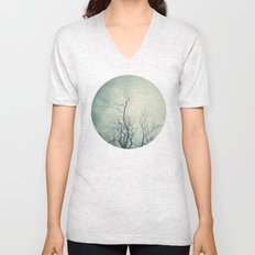 Winter Poem  Unisex V-Neck
