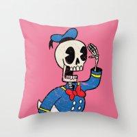 Donald Death Throw Pillow