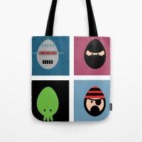 Robot Ninja Cthulhu Pira… Tote Bag