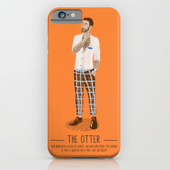The Otter - A Poster Guide to Gay Stereotypes iPhone & iPod Case