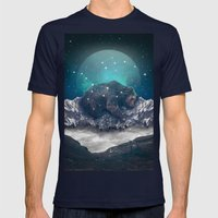 Under The Stars (Ursa Ma… Mens Fitted Tee Navy SMALL