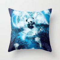 The Risen Throw Pillow