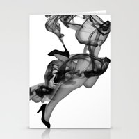 Legs in Smoke Stationery Cards