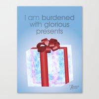 I Am Burdened With Glori… Canvas Print