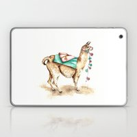 Watercolor Llama Laptop & iPad Skin