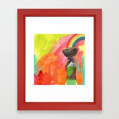 carrying Framed Art Print