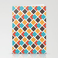 Geometric Art Deco Stationery Cards