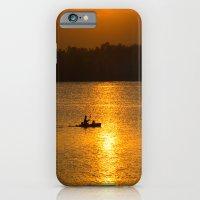 Sunset trip iPhone 6 Slim Case
