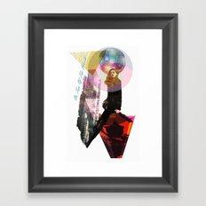 On Top Of The World... Framed Art Print