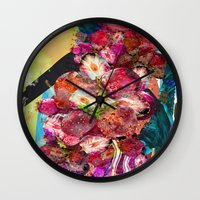Fruit Crush Wall Clock