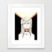 Slow the Churn Framed Art Print