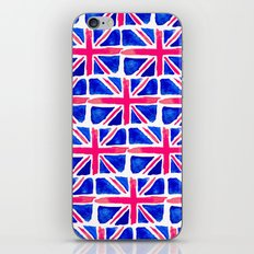 Watercolour Union Jack  iPhone & iPod Skin