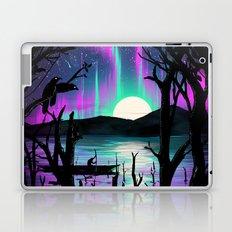 Night With Aurora Laptop & iPad Skin