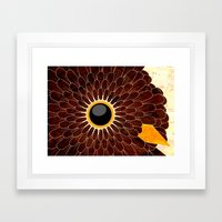 ruffled Framed Art Print