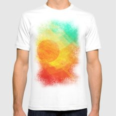 Dreamy Sunset Mens Fitted Tee White SMALL