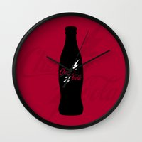 Cherry Cola Wall Clock