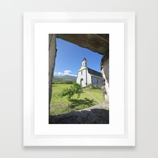 St. Joseph's Church, Maui Framed Art Print
