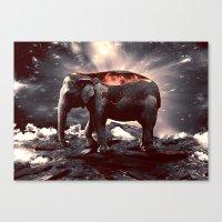 Elefount / Luminescent S… Canvas Print