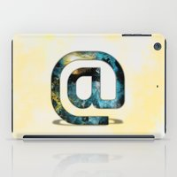 At Sign {@} Series - Sil… iPad Case