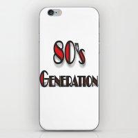 80'S iPhone & iPod Skin