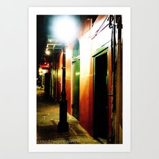 Pirate Alley  Art Print