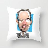 Tom Hanks Throw Pillow