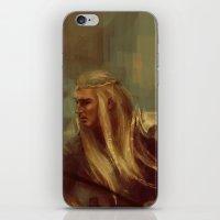 Thranduil The Faithless Woodland Sprite iPhone & iPod Skin