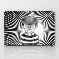 Fisher Man B/W iPad Case