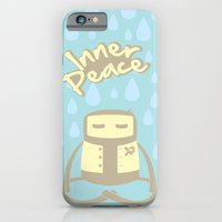 iPhone & iPod Case featuring Inner Peace by sudarshana