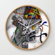 Psychoactive Bear 7 Wall Clock