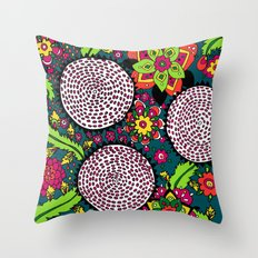 Go Go Go Throw Pillow