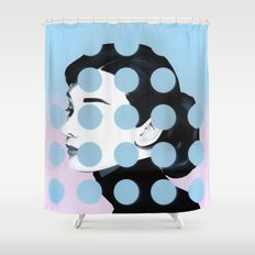 Audrey (Dots) By Famous … Shower Curtain